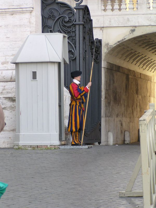 Swiss Guard at the Vatican - Vatican City