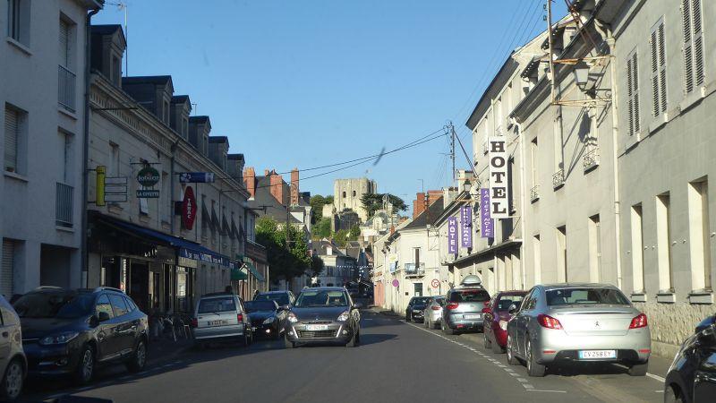 Main Street in Montrichard