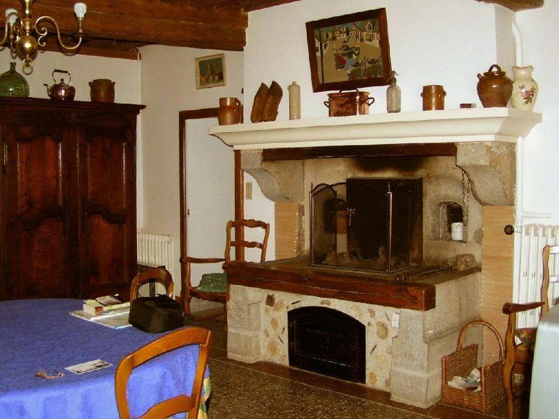 Living-dining room of Gite #60 in Bard-le-Régulier in Burgundy