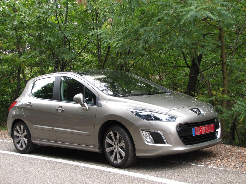 Peugeot 308 Diesel we used in 2012 - France and Germany