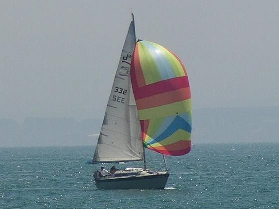 A sailboat on the Bodensee - Meersburg
