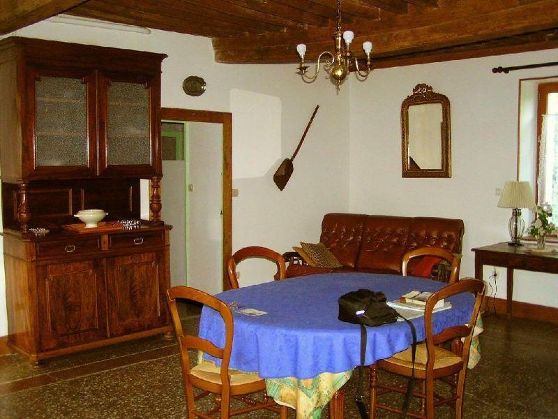 Living-dining room of Gite at Bard-le-Régulier near Beaune