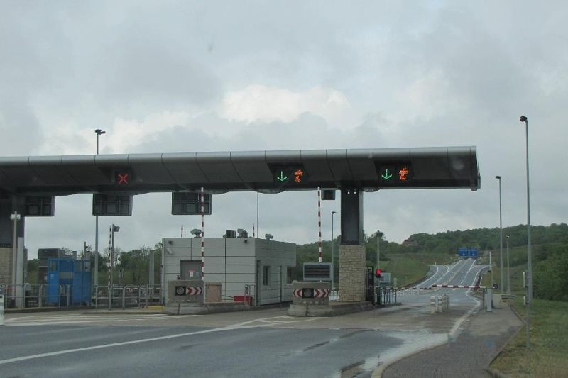 AutoRoute toll station - France