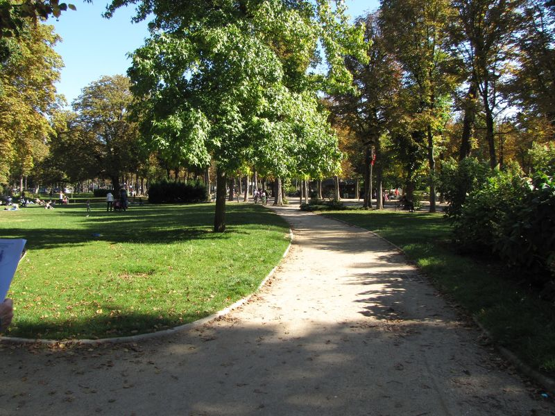 Jardin du Ranelagh in Paris