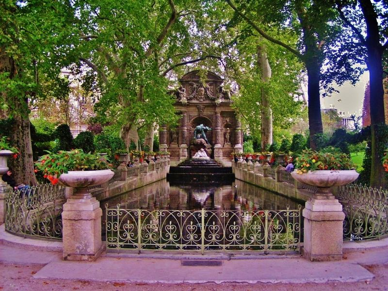 Medici Fountain in the Luxembourg Gardens, Paris
