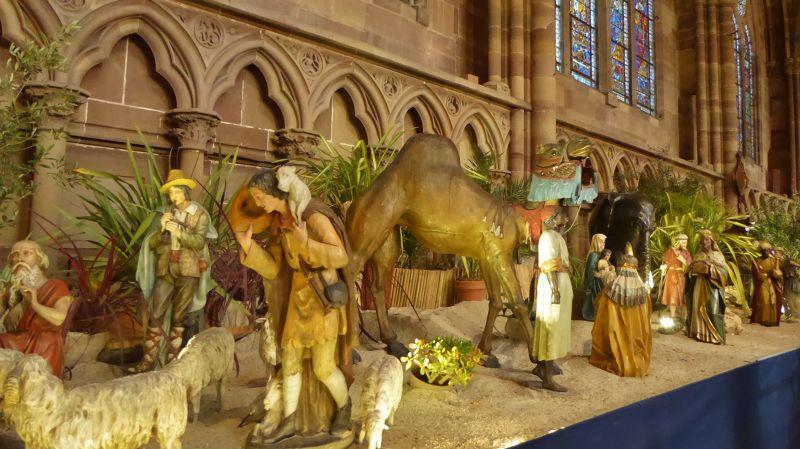 Strasbourg Cathedral Nativity Scene - Strasbourg