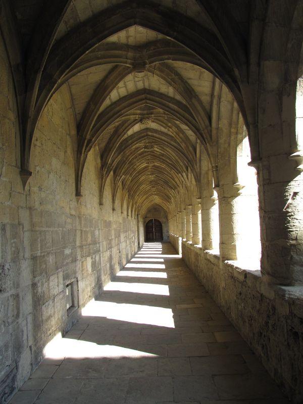 Cloister Walk at Chartreuse St.-Sauveur - Villefranche-de-Rouergue
