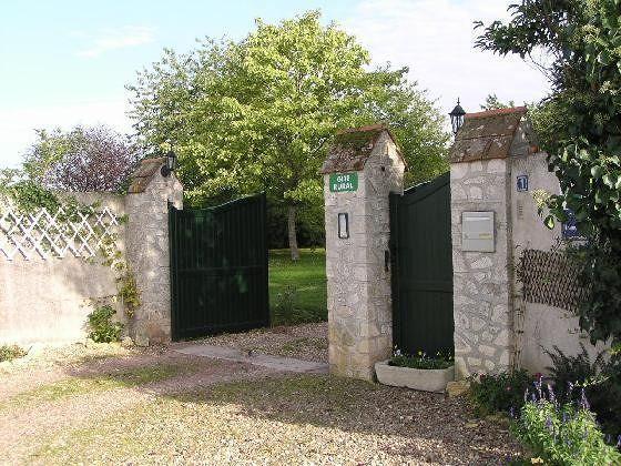 Domaine de la Chapelle -- main gate near Montrichard