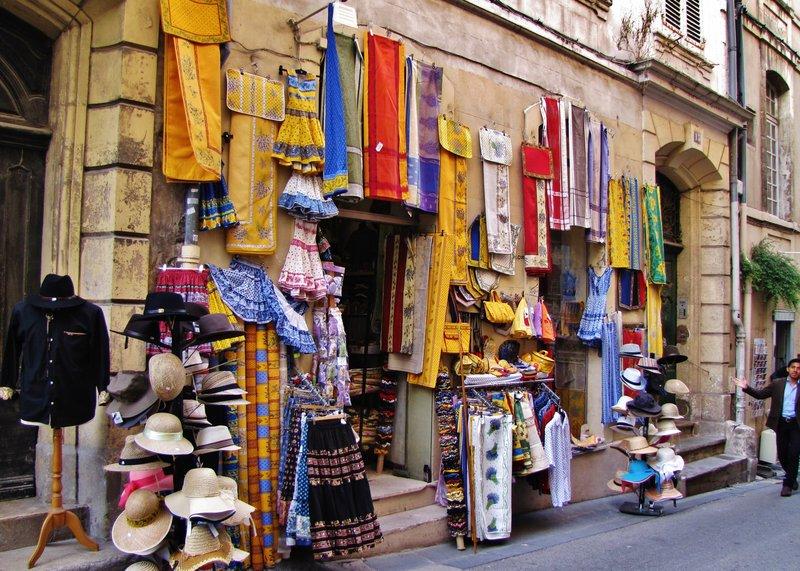 Arles can be a bit touristy,  but great souvenir shopping