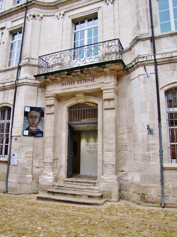 Musée Estrine entrance