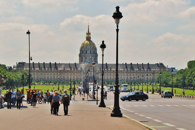 Invalides from Pont Alexandre III