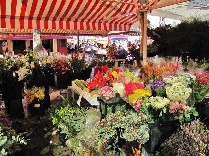 Flower Market at Cours Saleya
