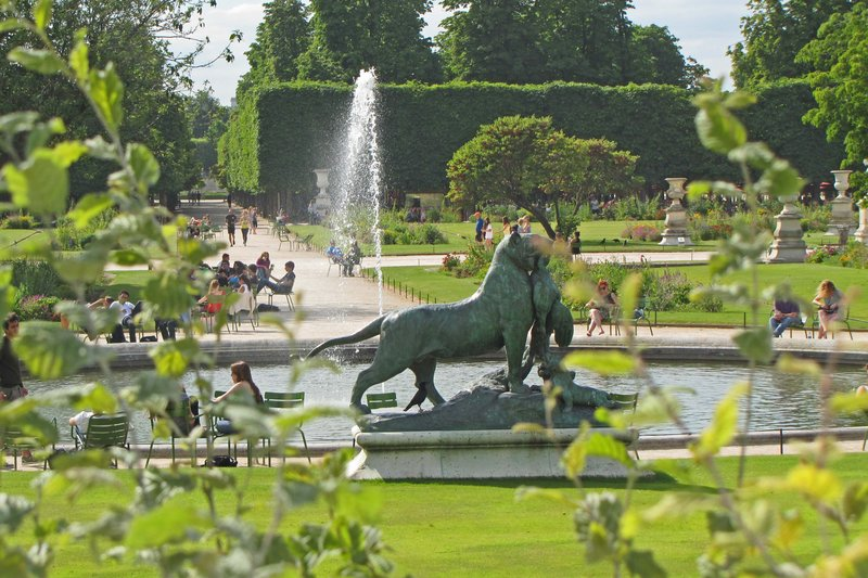 Time to Go Home from the Tuileries Gardens