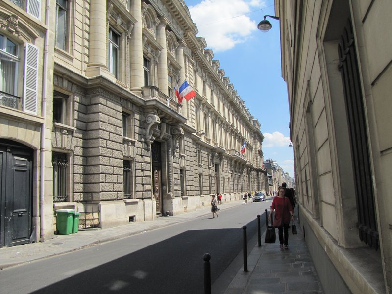Ministry of Agriculture on rue de Varenne, Paris