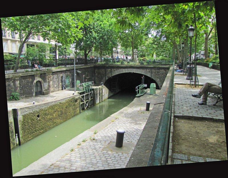 Walk along Canal St. Martin