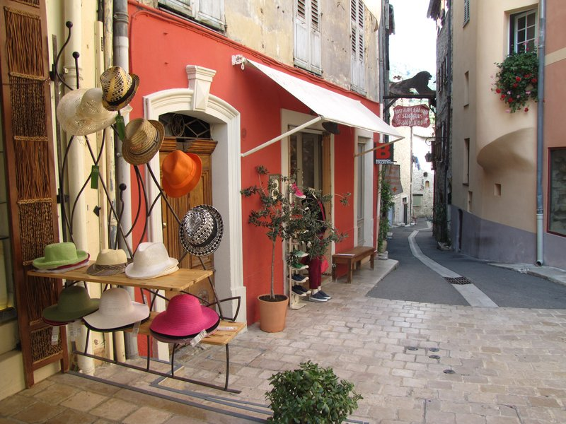 Shop in Old Town Vence, France