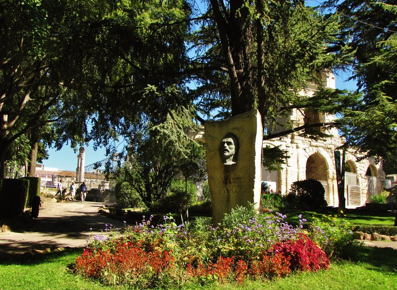Jardin d'été in Arles