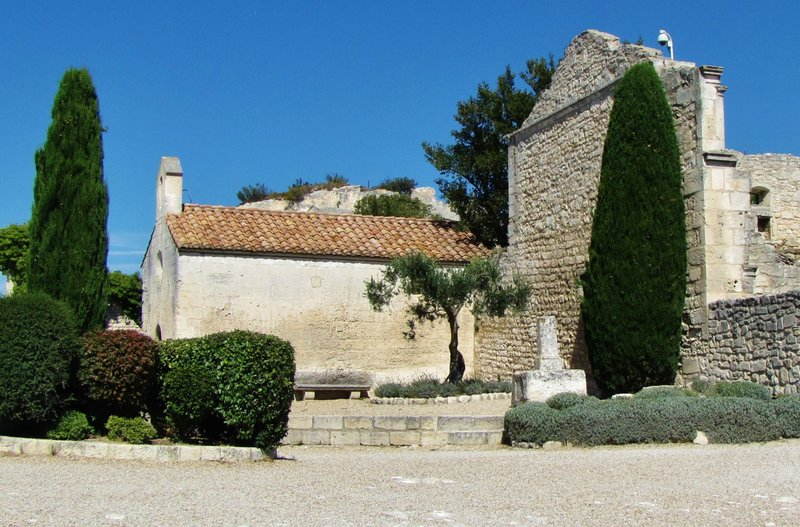 Chapel at Les-Baux-de-Provence