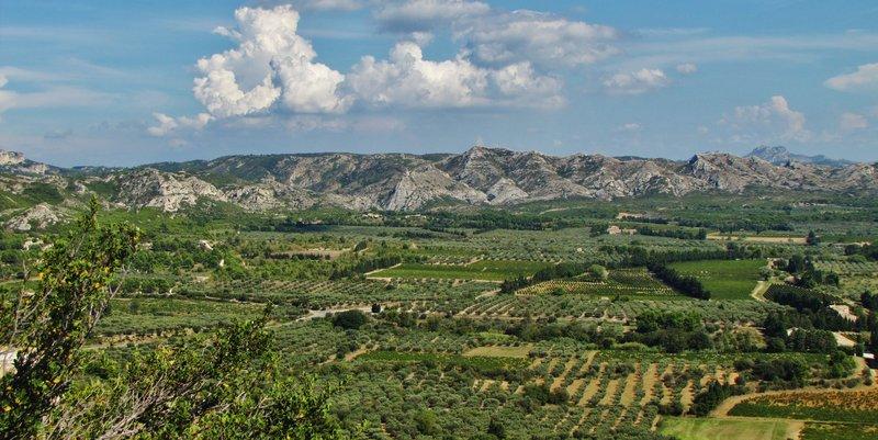 Les-Baux-de-Provence - view from the chateau