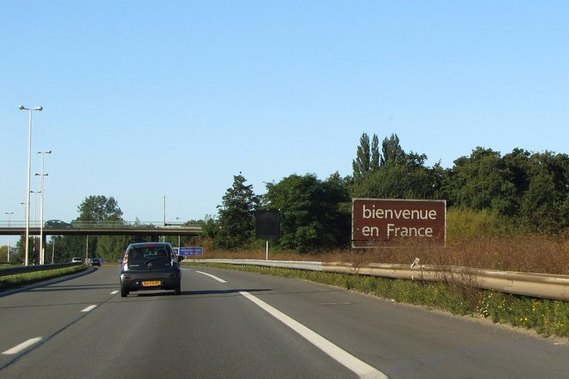 Welcome to France (from Belgium)