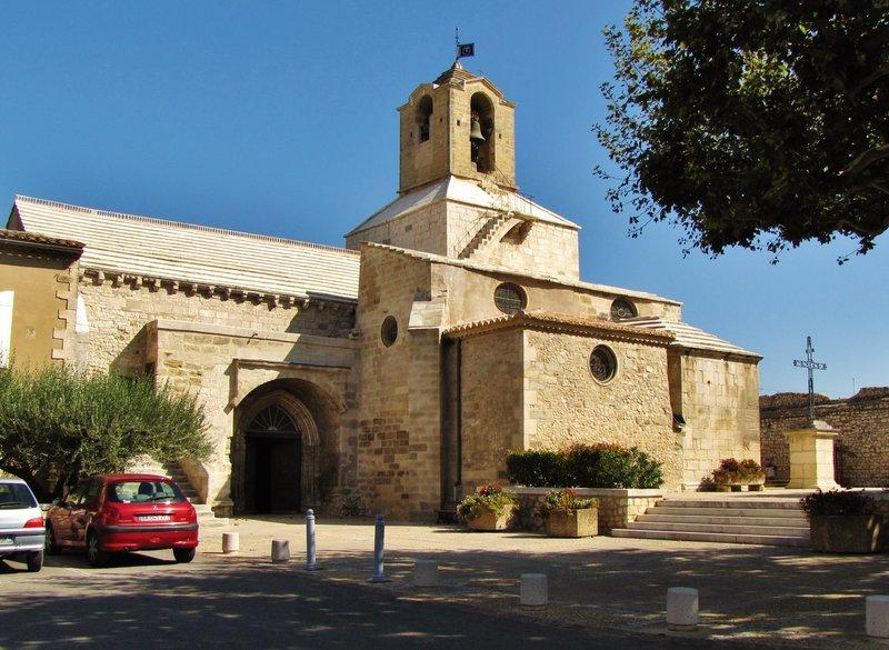 Eglise St. Baudile, Noves