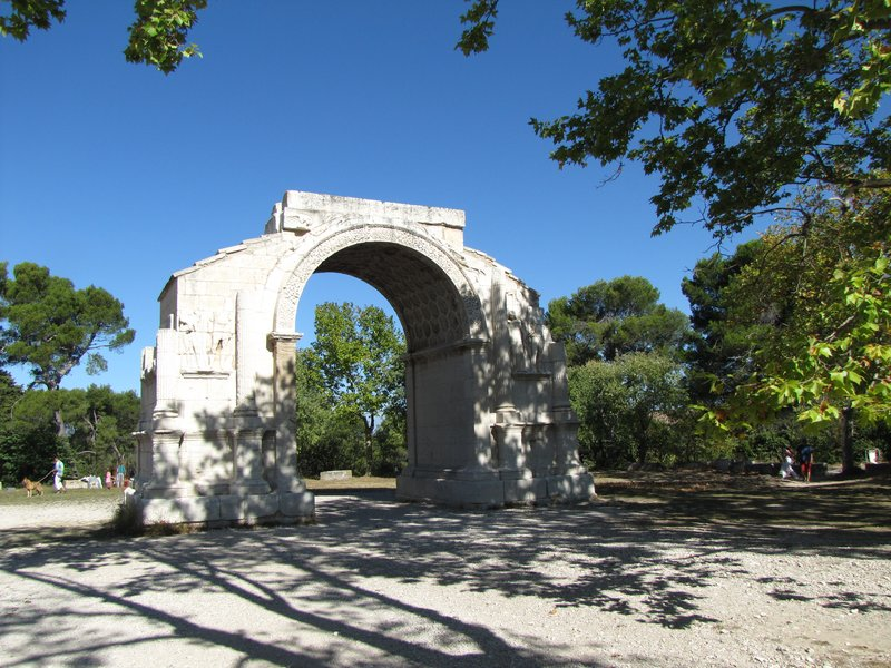 Arc de Triomphe (20 AD) at Glanum