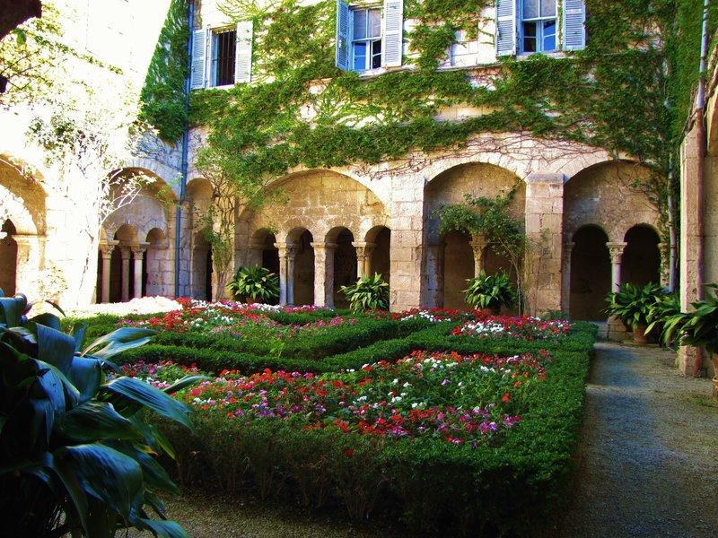 Saint Paul de Mausole Monastery Cloisters