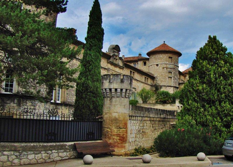Château in La Roque d'Antheron
