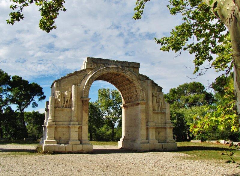 The Triumphal Arch at Les Antiques