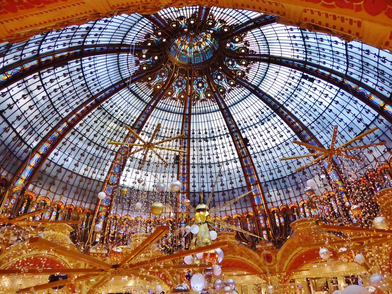 Tiffany Dome, Galeries Lafayette, Paris