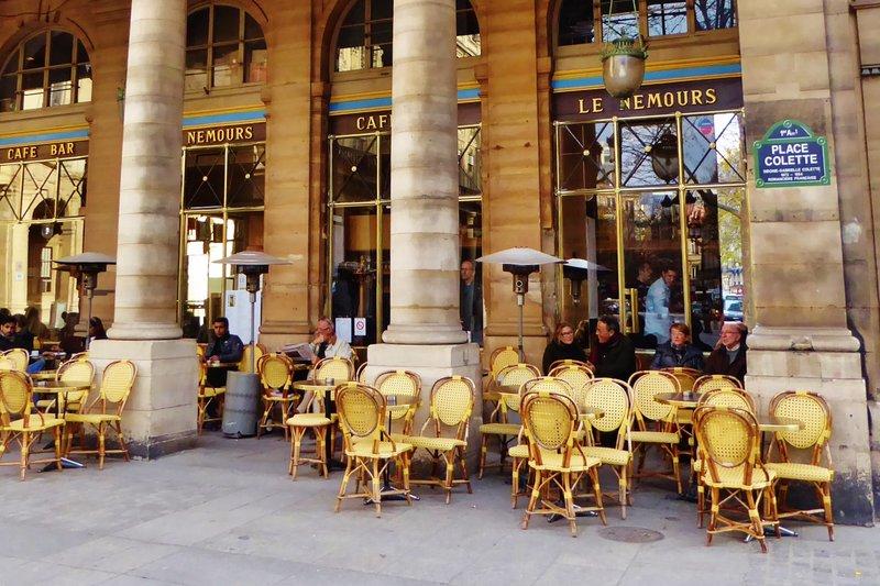 Café Nemours, Paris