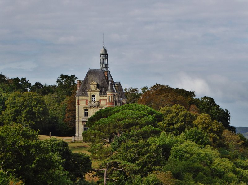Mysterious Château behind the Two Towers