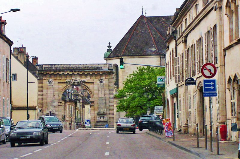 Triumphal Arch in Beaune, France