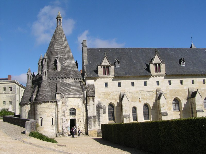 Kitchens of the Abbaye Royale de Fontevraud in 2006