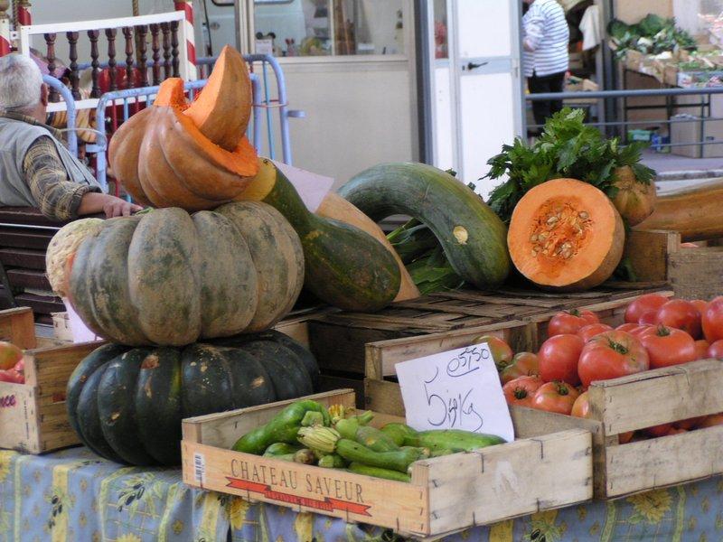 Market in Vence, France
