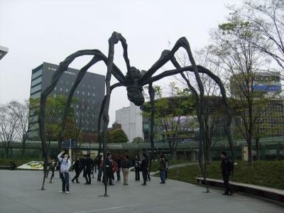 Giant Spider Statue Roppongi Area - Tokyo