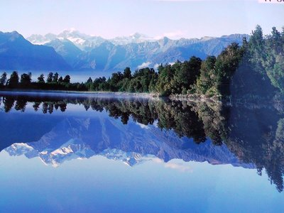 View of Lake Matheson