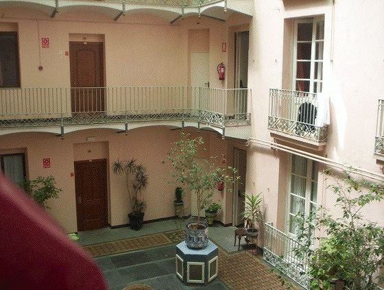Courtyard from room - Barcelona