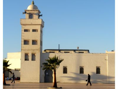 Old mosque, Ad-Dakhla, Western Sahara