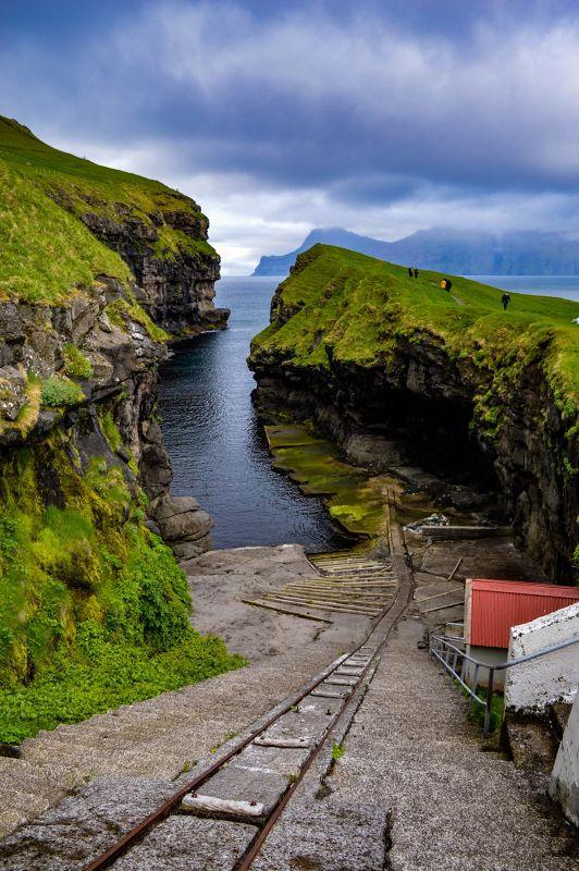 Gjógv harbour - Faroe Islands