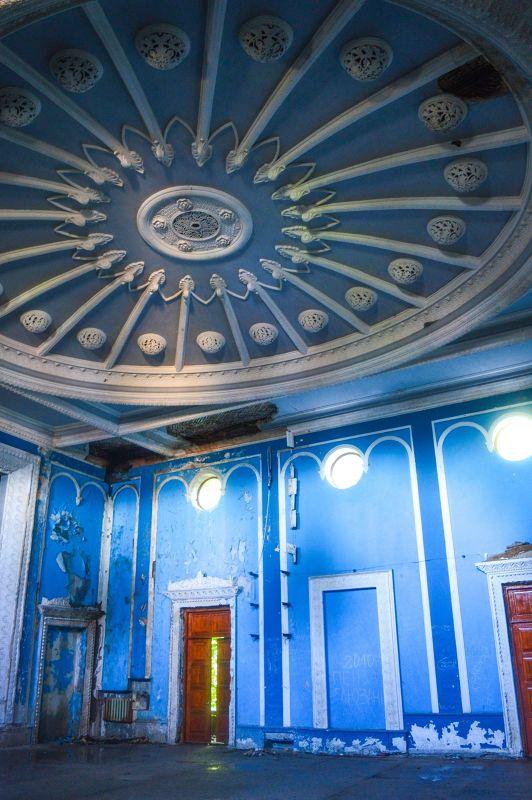 Gagra's ruined cinema, Abkhazia