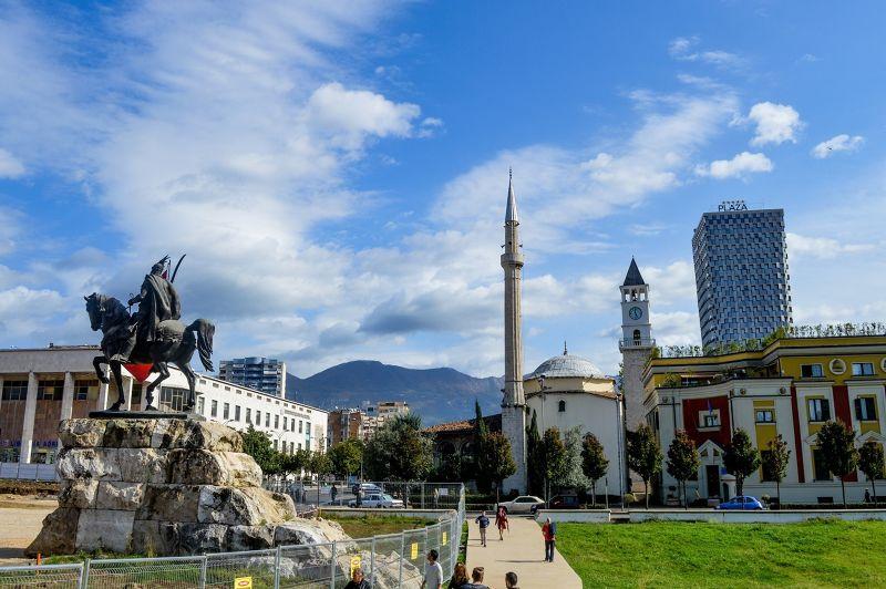 Skenderbeg Square, Tirana - Tirana
