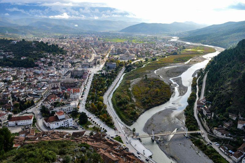 View from Berat Castle - Berat