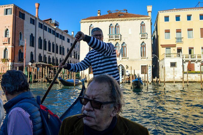 Public gondola ferry, Venice - Venice