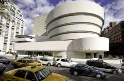 The Guggenheim from outside