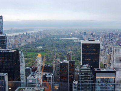 Top of the Rock: Central Park