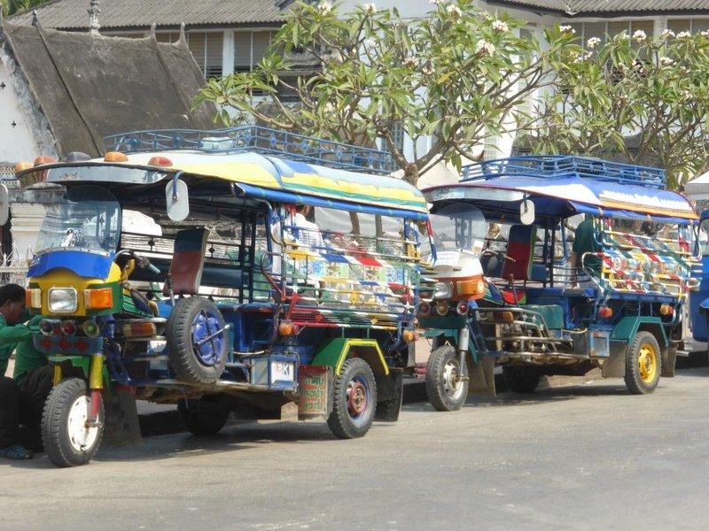 the prototype of the local tuktuk