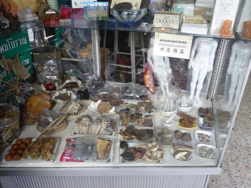 Chinese medicine, Chinatown