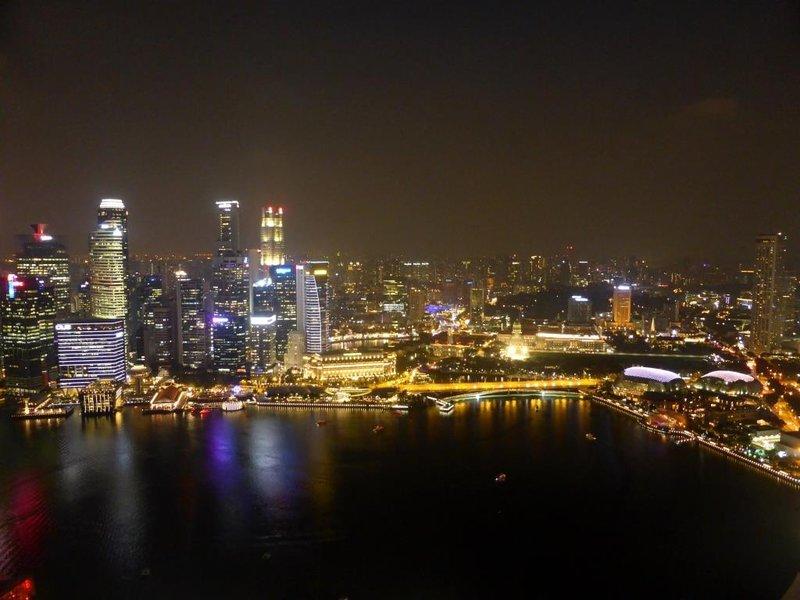 view on Marina Bay