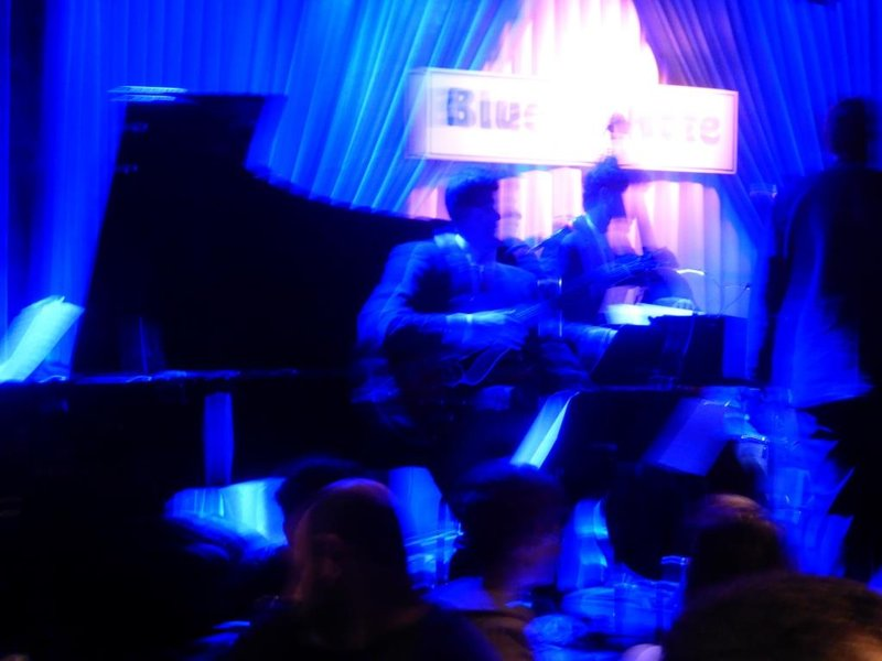 artistic picture at the blue note